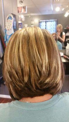 Medium stack haircut