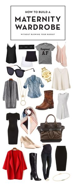 Build a maternity wardrobe without breaking the bank. Tips and tricks courtesy of the Pregnant Chicken! http://fal.cn/Q1tS