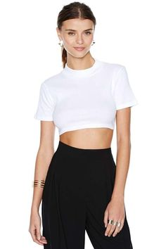 After Party Vintage Penelope Crop Top