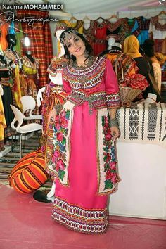 Berber Queens | Nuriyah O. Martinez | Berber dress from Algeria, North Africa