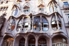 Casa Batllo - look at the details in this magnificent piece of art :)