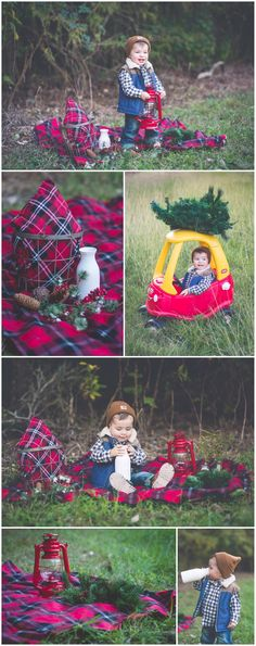Lumberjack Christmas 2014 | Laraina Hase Photography | Blog | Little Boy Christmas Pictures