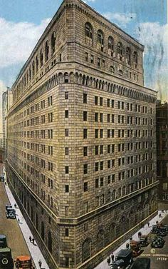 New York Architecture Images- FEDERAL RESERVE BANK OF NEW YORK