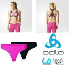 Nouvelle brassière Adidas AJ6590 flowers avec un lot de strings ODLO 130311   #lingeriesport #fraisdeportgratuit #adidas #odlo #running #pilates #sport