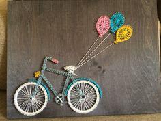 Bike String art