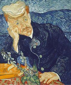 Portrait du docteur Gachet, par Vincent Van Gogh (juin 1890). Découverte d'un carnet de dessins inédits de Van Gogh. Histoire de France. Patrimoine. Magazine