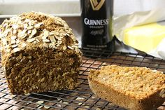 Guinness Wheat Bread is made with Guinness beer and a mixture of 3 wheat flours - whole wheat, whole grain flour, Spelt flour, and white whole wheat flour. Whole Grain Flour, Spelt Flour, How To Store Bread, How To Make Bread, Easy Bread, Recipe Community, Group Meals, Sweet And Spicy, Guinness