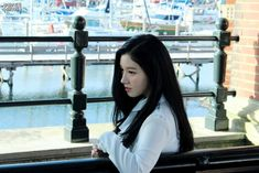 Xiyeon | pristin jacket shooting behind