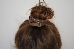 cute idea to accessorize with a skinny belt!