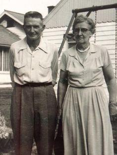 William H and S Elizabeth Hugunin in Camanche, IA