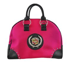 Licensed Cadillac Doctor Style Handbag - Choice Of Colors