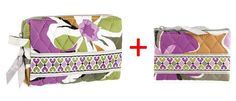 Vera Bradley Small Cosmetic and Coin Purse in Portobello Road => Startling review available here  : Travel cosmetic bag