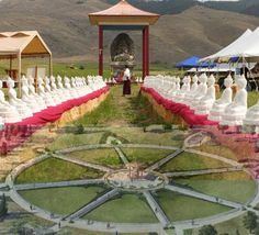 At the garden of 1000 buddhas in arlee montana serenity pinterest gardens montana and Garden of one thousand buddhas