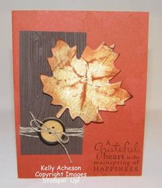 Easy Peasy Fall Card
