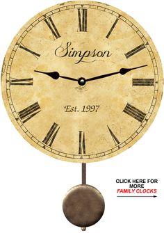 family-name-clock