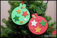 Cute idea for Christmas craft.:)