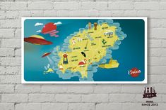 Cuadros Hi Ibiza ORIGINAL SINCE 2013 Mapa Ibiza PVC de 5mm con soporte para colgar en pared. Medidas: 318x505mm Design by: David Tur #hiibiza #hibiizaoriginal #hiibizaoriginalsince2013 #5años #hiibizapostcards https://www.facebook.com/hi.ibiza/ https://www.facebook.com/davidturdesign/