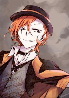 I have offically fallen in love with Chuuya...  send help pls