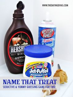 Name That Treat… Seductive & Yummy Guessing Game For Two. www.thedatingdivas.com #intimatedateideas #datenight #dates