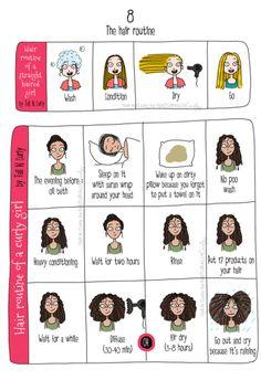 8 Astuces pour garder de beaux cheveux bouclés - Odieusement Belles