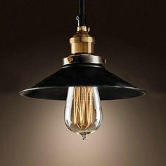 KINGSO E27 Industrial Loft Pendelleuchte Edison Vintage D...…