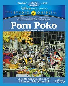 Pom Poko [Blu-ray] Walt Disney Home Entertainment Presents A Studio Ghibli Film Dvd Disney, Disney Blu Ray, Disney Home, Disney Movies, Walt Disney, Jess Harnell, Kevin Michael Richardson, Brian Posehn, Survival