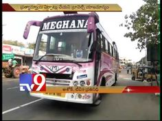 Private bus abandons passengers midway in Krishna