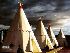 "WigwamMotel on Historic Route 66 in Winslow Arizona -  Inspiration for the motel in the the Pixar movie ""Cars"""