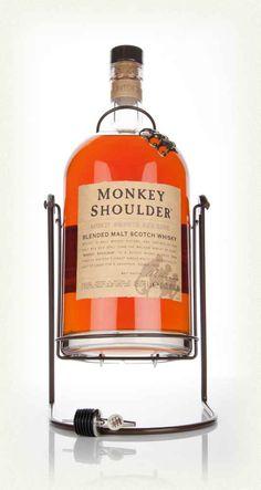 Monkey Shoulder Blended Malt Scotch Whisky - 'Gorilla'