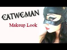AMAZING Catwoman Makeup Transformation EVER!!!  See it to believe it!