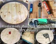 Large Lazy Susan Impressive How To Make A Large Wood Lazy Susan  Youtube  Fixer Upper Inspiration Design