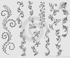 Manga Drawing Patterns - Millions of Creative Stock Photos, Vectors, Videos and Music Files For Your Inspiration and Projects. - - Millions of Creative Stock Photos, Vectors, Videos and Music Files For Your Inspiration and Projects. Drawing Borders, Vine Drawing, Pattern Drawing, Doodle Borders, Manga Drawing, Doodle Designs, Doodle Patterns, Zentangle Patterns, Zentangles