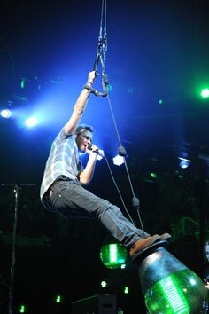 Eddie Vedder of Pearl Jam performs at Barclays Center of Brooklyn on October 18, 2013 in New York City.
