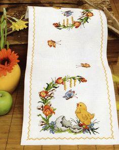 цыплёнок пасха полотенце дорожка