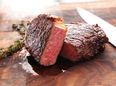 Sous-vide is the ideal way to cook steak for perfectly even edge-to-edge cooking with foolproof results. Sous-vide steaks can be finished in a pan or on the grill.\n