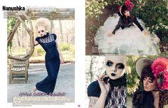 Daklugie - Nanushka Photography - Fashion Photography - Dolls - Marionettes - Puppets - Halloween concept ideas