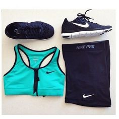 Nike Pro Workout Clothes   Fitness Apparel for Women   Workout Shorts   Sport…