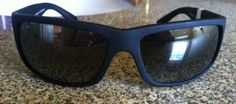 cool NEW Maui Jim WORLD CUP Polarized sunglasses 266-02MR Black Gray Lens $229 Italy