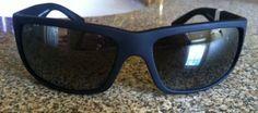 cool NEW Maui Jim WORLD CUP Polarized sunglasses 266-02MR Black Gray Lens $229 Italy