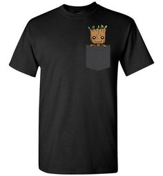 Now available: Baby Groot Pocket.... Check it out here! http://www.southofmemphis.com/products/baby-groot-pocket-t-shirt-in-dark-colors?utm_campaign=social_autopilot&utm_source=pin&utm_medium=pin