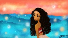 Korean Storybook style paintings of Disney... - Illustrations by Dil