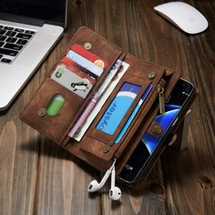 for Galaxy S7 Edge Genuine Leather Case Phone Cases Cover sFor Samsung Galaxy S7 Edge G935 Multifunction Zipper Wallet Phone Bag