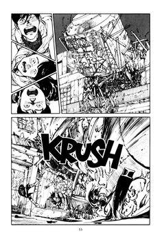 Katsuhiro Otomo Storyboard, Katsuhiro Otomo, Black White Art, Anime Comics, Manga Anime, Classic Style, Fictional Characters, Inspiration, Comics