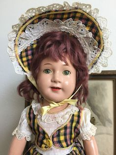 VERY RARE Madame Alexander Vintage 1948 Jane Withers Composition Doll