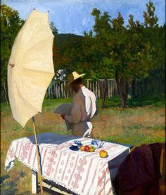 Károly Ferenczy (Hungarian, 1862 1917) October, 1903. Oil On Canvas