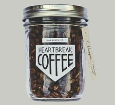 // Heartbreak Coffee // really want to try some. Awesome article about the new company on Design Sponge.
