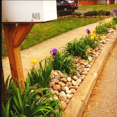 I want to do this to our mailbox and the area around it.