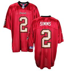 Chris Simms Tampa Bay Buccaneers Replica Jerseys