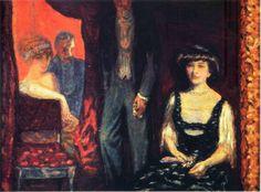 artist-bonnard: The Lodge via Pierre BonnardMedium: oil on...