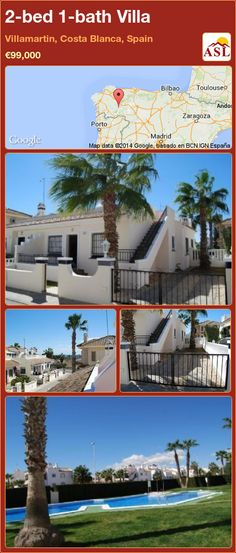 2-bed 1-bath Villa in Villamartin, Costa Blanca, Spain ►€99,000 #PropertyForSaleInSpain